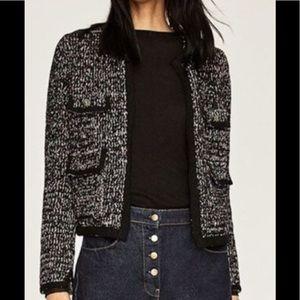 e26b8d7e Women Chanel Style Jacket Zara on Poshmark